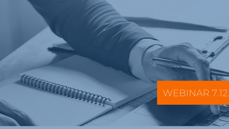 Zaproszenie na webinar: Rozliczanie środków otrzymanych z Tarczy Finansowej PFR