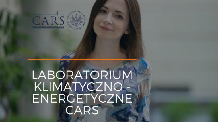 Współpraca z Laboratorium Klimatyczno-Energetycznym CARS UW